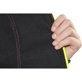 PEARL iZUMi Select Escape Softshell Jacket Damen black/screaming yellow
